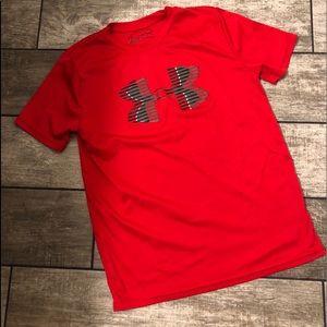 Boys Under Armour UA Tech Heatgear T-shirt